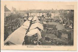 BRACIEUX - PLACE DU CHAMP JOBERT  - Le Marché - Andere Gemeenten