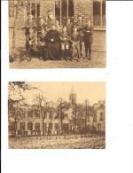 Aalst - Alost - Lot De 2 Cartes Postales - NELS - Juvénat De La Congrégation De St Jean De Dieu - Aalst
