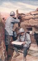 Guerre 14-18, Protection Des Frontières, Dans Les Tranchée (156) - Oorlog 1914-18