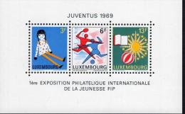 Luxemburg Block 8 Briefmarkenausstellung MNH Postfrisch ** - Blocs & Hojas