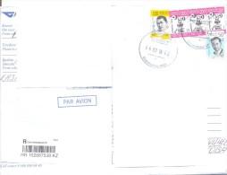 2016.Kazakhstan, The Letter By Registered Air-mail Post To Moldova - Kazakhstan