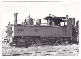 REPRODUCTION TRAIN VOIR DOS 77 Jouy Le Chatel Vers Nangis Locomotive Vapeur 031 T N°3714 En 1952 - Nangis