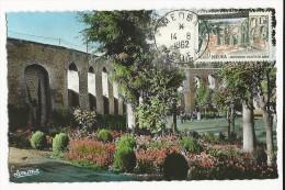 1962 - ALGERIE - TIMBRE FRANCAIS SURCHARGE EA - CARTE MAXIMUM De MEDEA - Algérie (1924-1962)