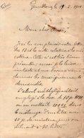 VP3537  - Tabac - Lettre De Mr Le  Professeur Emile LAURENT  à GEMBLOUX  Au Sujet De La Nicotine - Documents