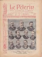 LE PELERIN 25 Mars 1906  Le Nouveau Ministère, Catastrophe De Courrières, - Books, Magazines, Comics