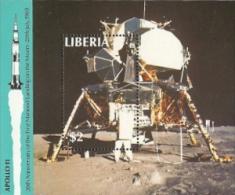 Liberia,  Scott 2016 # 1129,  Issued 1989,  S/S Of 1,  MNH,  Cat $ 5.50,  Space - Liberia