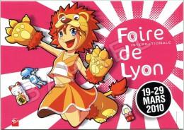 Affiche Sur Carte Postale De 2010 - Centenaire De La Foire De Lyon (1916-2016) - Eurexpo (69-Chassieu) - Publicité