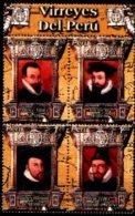 PERU, 2004, VICE KINGS OF PERU, YV#1358-61, MNH - Pérou