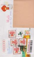 CHINE, Entier Postal Nouvel An 2011 Avec Complement D´affranchissement (voyagé En 2016) - 1949 - ... Volksrepublik