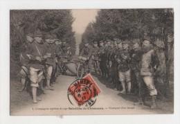 Rare - Compagnie Cycliste Du 25° Bataillon De Chasseurs - Transport D´un Blessé - Guerre 14-18 - 1914-18
