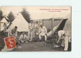 PONTARLIER - Au Camp Des Pareuses à 5 Heures Du Matin : Différentes Corvées  - 2 Scans - Pontarlier
