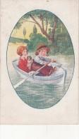Illustrateur - Enfants  Sur Une Barque - Illustrateurs & Photographes