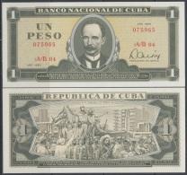 1980-BK-101 CARIBBEAN ANTILLES HAVANA CARIBE. 1980. 1$. JOSE MARTI. UNC. - Cuba