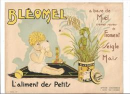 VP.0305/ Publicité BLEOMEL - L'aliment Des Petits à Base De Miel - Apiculture - Advertising