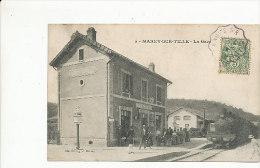 Marey-sur-Tille - La Gare - 1907 - France