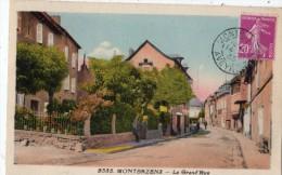 MONTBAZENS LA GRAND'RUE - Montbazens