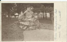 AK 0368  Gars Am Kamp - Schubert-Park , Gedenkstein Um 1925 - Gars Am Kamp