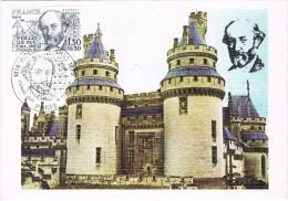 17220. Tarjeta Maxima PARIS 1980. Violet Le Duc - Cartas Máxima