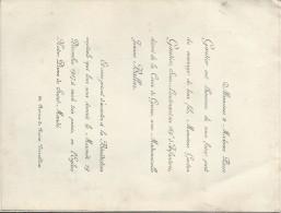Mariage Gautier Gaston - Jeanne Ballaz /Sous Lieutenant Au 169éme RI/ Versailles / Saint Mandé/ 1917    FPM2 - Mariage