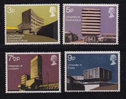 UK, 1971, Mint  Hinged Stamps , British Architecture, 583-586, #14481 - 1952-.... (Elizabeth II)