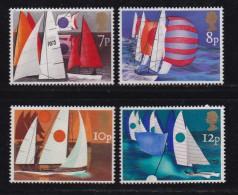 UK, 1975, Mint  Hinged Stamps , Sailing, 678-681, #14483 - 1952-.... (Elizabeth II)