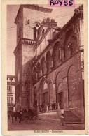 Campania-benevento Cattedrale Veduta Animata Anni/20 - Benevento