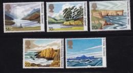 UK, 1981, Mint  Hinged Stamps, British Landscapes, 879-883, #14486 - 1952-.... (Elizabeth II)