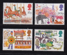 UK, 1983, Mint  Hinged Stamps, British Fairs, 966-969, #14494 - 1952-.... (Elizabeth II)