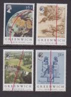 UK, 1984, Mint  Hinged Stamps, Greenwich Meridian, 993-996, #14502 - 1952-.... (Elizabeth II)