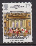 UK, 1984, Mint  Hinged Stamps, London Economic Summit, 992, #14501 - 1952-.... (Elizabeth II)