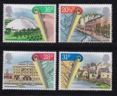 UK, 1984, Mint  Hinged Stamps, Urban Renewal, 984-987, #14500 - 1952-.... (Elizabeth II)