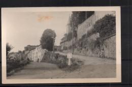 CARTE PHOTO DE CHALMAZEL -  BORNE MICHELIN ( GC101, SAUVAIN 9)- EGLISE - SCAN R/V - TBE. - France