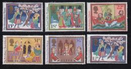 UK, 1986, Mint  Hinged Stamps, Christmas, 1092-1096 #14523 - 1952-.... (Elizabeth II)