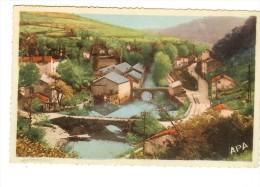 Poux Apa 16 - Vabre, Le Pont Vieux Et Route Du Vieux Moulin En 1928 - 2 Scans - Vabre