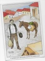 PORTUGAL- Pregões De Lisboa -Ilustrador F. Gerardo.-O HOMEM QUE RECOLHIA RESTOS DE HORTALIÇA - Commercio