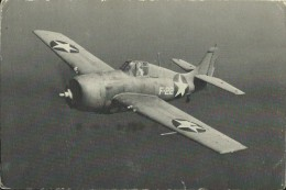 MIL449   --  AVION  --  GRUMMAN  F4F - 3  ,, WILDCAT ,  FIGHTER   --  ( U. S. NAVY PHOTO ) - Guerra 1939-45