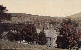 Bird's Eye View Looking East Saint Johnsbury Vermont 1913