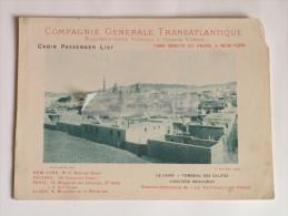 """Phototypie Berthaud Le Caire Tombeau Des Califes 1897 Paquebot """"La Normandie"""" Compagnie Générale Transatlantique Rare - Fotografia"""