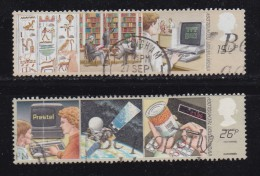 UK, 1982, Cancelled Stamp(s ), Information Technology, 927-928, #14447 - Used Stamps