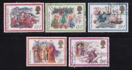 UK, 1983, Cancelled Stamp(s ), Christmas, 933-937, #14448 - 1952-.... (Elizabeth II)