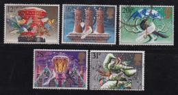 UK, 1983, Cancelled Stamp(s ), Christmas, 970-974 #14454 - 1952-.... (Elizabeth II)