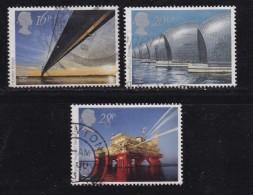UK, 1983, Cancelled Stamp(s ), EUROPA Engineering, 953-955, #14450 - 1952-.... (Elizabeth II)