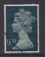 UK, 1983, Cancelled Stamp(s ), QE II Pound 1,30, 961, #14452 - Used Stamps