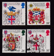 UK, 1984, Cancelled Stamp(s ), College Of Arms, 975-978 #14455 - Used Stamps