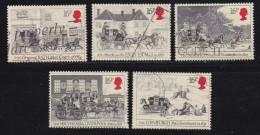 UK, 1984, Cancelled Stamp(s ), First Mailcoach Run, 997-1001, #14460 - 1952-.... (Elizabeth II)