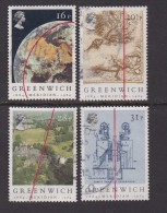 UK, 1984, Cancelled Stamp(s ), Greenwich Meridian, 993-996, #14459 - 1952-.... (Elizabeth II)
