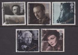 UK, 1985, Cancelled Stamp(s ), British Film Year, 1044-1048, #14465 - 1952-.... (Elizabeth II)