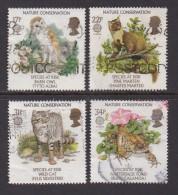 UK, 1986, Cancelled Stamp(s ), EUROPA Nature Conservation, 1068-1071, #14469 - 1952-.... (Elizabeth II)