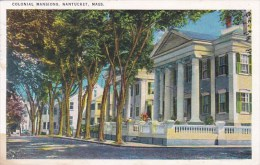 Colonial Mansions Nantucket Massachusetts 1988 - Nantucket