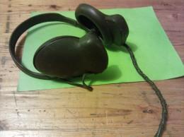 Headphone, WWII Tank, H-16/U 8000, MX 175/u, National Scientific Prod Co Chicago Ill - Radio